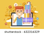 stock vector illustration man... | Shutterstock .eps vector #632316329