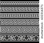 greek seamless ornament | Shutterstock .eps vector #632316371