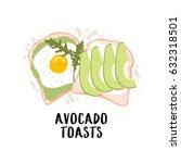 cute illustration of simple... | Shutterstock .eps vector #632318501