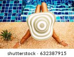 summer holiday fashion concept  ... | Shutterstock . vector #632387915