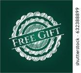 free gift chalk emblem