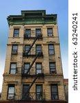 Old New York City Tenement...