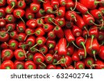 Stack Of Red Jalapenos