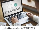 authenticated premium selected... | Shutterstock . vector #632408759