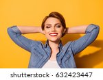 relax  portrait of a young... | Shutterstock . vector #632423447