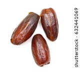 dried dates  fruits of date... | Shutterstock . vector #632441069