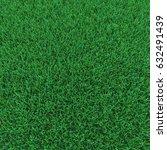 grass on white. 3d illustration | Shutterstock . vector #632491439