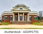 thomas jefferson's home ...   Shutterstock . vector #632491751