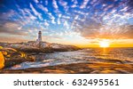 Peggy's Cove Lighthouse Sunset...