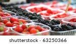 Bio Berries At The Farmer's...