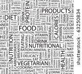 food. seamless vector pattern...   Shutterstock .eps vector #63250834