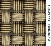 seamless  parquet floor texture | Shutterstock . vector #632524841