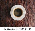 closeup cup of coffee americano ...