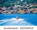 Small Red Motor Boat Transfer...