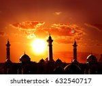 ramadan kareem background.... | Shutterstock . vector #632540717