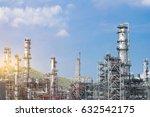 industrial zone the equipment... | Shutterstock . vector #632542175