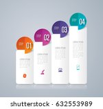 infographics design vector and... | Shutterstock .eps vector #632553989