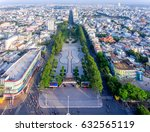 city aerial panoramic view of... | Shutterstock . vector #632565119