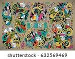 vector hand drawn doodle... | Shutterstock .eps vector #632569469