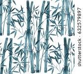 bamboo on white background.... | Shutterstock . vector #632579897