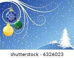 abstract christmas background...   Shutterstock .eps vector #6326023