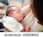 newborn boy | Shutterstock . vector #632608661