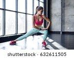 fitness  sport  training  gym... | Shutterstock . vector #632611505
