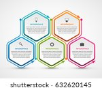 abstract options infographics... | Shutterstock .eps vector #632620145