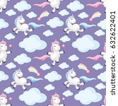 fairy children seamless pattern ...   Shutterstock .eps vector #632622401