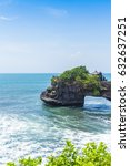 view of bali island in indonesia | Shutterstock . vector #632637251