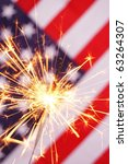 fourth of july concept with... | Shutterstock . vector #63264307