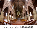 Small photo of CABRERA, COLOMBIA - MAY 7: The interior of the Cabrera Church in Cabrera, Colombia on May 7, 2016.