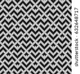 black and white jacquard... | Shutterstock .eps vector #632648717