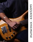 Small photo of Bass guitar