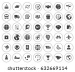 shipping icons | Shutterstock .eps vector #632669114