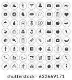 health icons | Shutterstock .eps vector #632669171