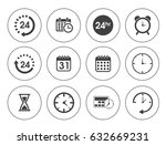 time icons | Shutterstock .eps vector #632669231