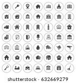 house icons | Shutterstock .eps vector #632669279