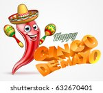 a happy cinco de mayo banner... | Shutterstock . vector #632670401