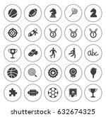 game icons | Shutterstock .eps vector #632674325