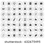 commerce icons | Shutterstock .eps vector #632675495