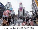 tokyo  japan   circa march ... | Shutterstock . vector #632679539