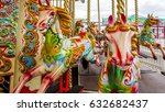 Detailed Horses On A Ride At...