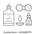 vision correction equipment... | Shutterstock .eps vector #632688374