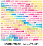 abstract pattern with...   Shutterstock . vector #632696684
