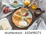 tasty traditional russian...   Shutterstock . vector #632698271