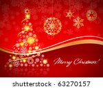 christmas card | Shutterstock . vector #63270157