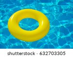 colorful inflatable tube... | Shutterstock . vector #632703305