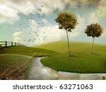 Nice Autumn Landscape For...