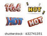hot text for title or headline. ...   Shutterstock . vector #632741351
